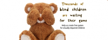 Give a gift to blind children