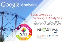 "SciFY Academy ""Getting started with Google Analytics"""